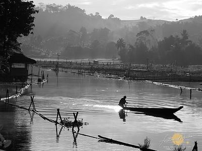Misty Lake Morning - Lake Sebu