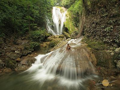 Refreshing Bantakay Falls - Quezon
