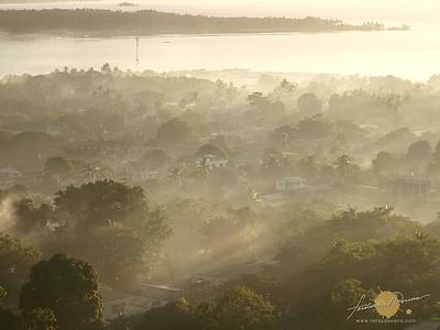 Misty Bongao Morning -  Tawi-tawi