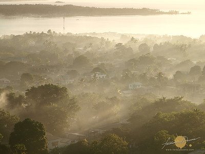Misty Bongao Morning -  Tawi-tawi