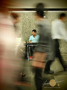 People Passing - Singapore