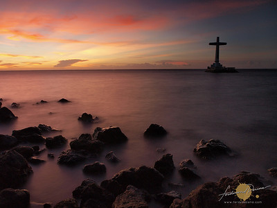Sunset at the Sunken Cemetery - Camiguin