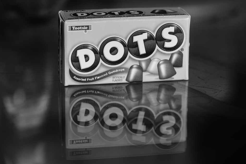 Black & White ~ Day 3 - Dots Reflection