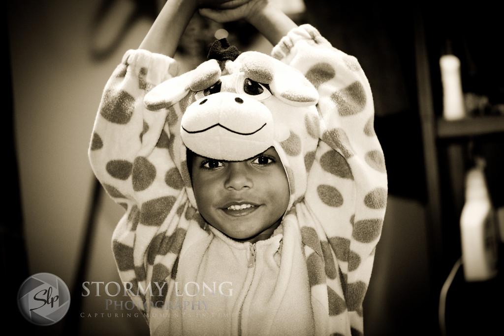 Black & White ~ Day 7 - My Little Giraffe