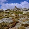 The peak of Mt. Kosciuszko (kossy-OS-ko)