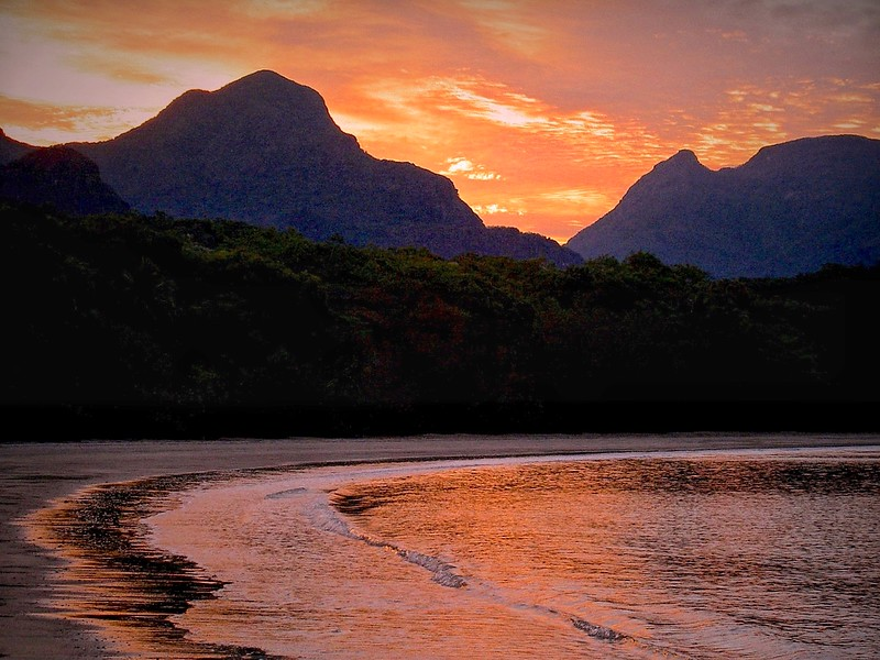 Sunset, Hinchinbrook Island National Park. Queensland