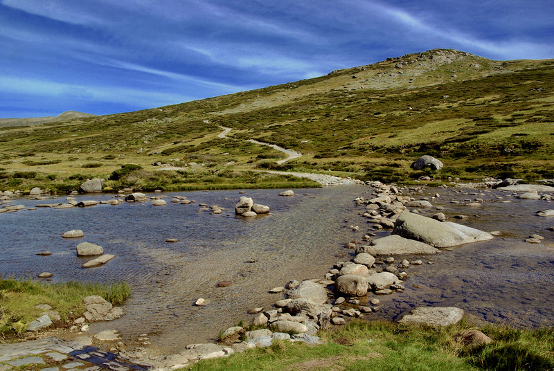 Downside Charlotte Pass in Kosciuszko National Park