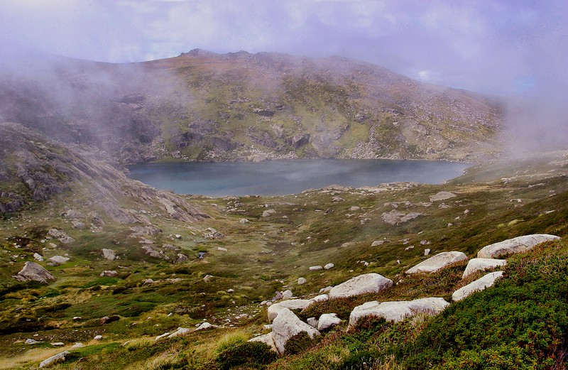 Blue Lake in Kosciuszko National Park