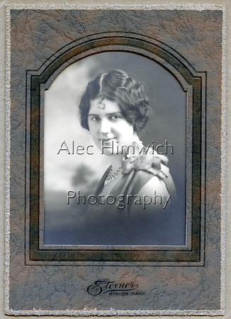 Williamina Eilizabeth Armstrong about 1939