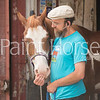 Walker Blankinship and his Paint Horses are staples of New York City's Kensington Stables.