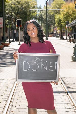 Aria Robinson's Graduation Photoshoot