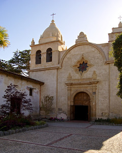 Mission San Carlos Borroméo del río Carmelo, also known as the Carmel Mission, is a Roman Catholic mission church in Carmel-by-the-Sea, California.  ref: e4ade0e2-a3f5-4407-8633-2420ffe4e030