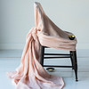 Linen Whisper yardage in Perfect Peach