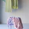 Velvet with Satin Throw Blanket in Petal