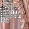 Linen Whisper Curtains in Perfect Peach