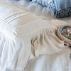 Valentina Kidney Pillow in White