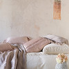Chloe Queen Duvet Cover In Champagne, Chloe Euro Sham In Champagne, Arielle Euro Sham In Heirloom Rose, Mirabella Standard Sham In Heirloom Rose, Valentina Kidney Pillow In Powder, Valentina Kidney Pillow In Heirloom Rose, Arielle Personal Comforter In Powder