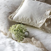 Isabella Euro Sham in Champagne, Lillian Pillowcase in Champagne, Helane Kidney Pillow in Champagne, Isabella Duvet Cover in Champagne