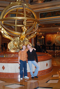 Vegas 2008 in the lobby of The Venetian