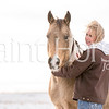 Sheza Sharp Shiner and Pistolshollywoodchic enjoy a snowy winter morning in Colorado.