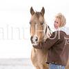 Sheza Sharp Shiner and Pistolshollywoodchic enjoy a snowy winter morning in Colorado.