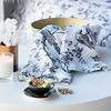 Bird Toile Guest Towel in White