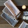 Emma Hand Towel in French Grey, Emma Hand Towel in Flax, Emma Hand Towel in Heirloom Rose