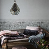 Sophia Personal Comforter in Heirloom Rose, Sophia Personal Comforter in French Grey, Velvet with Satin Ruffle Large Throw Blanket in Mineral, Pennelope Personal Comforter in Powder, Pennelope Boudoir in Heirloom Rose, Gabriella Standard Pillowcase in French Grey, Emma Standard Pillowcase in Heirloom Rose, Silk Velvet Quilted Kidney Pillow in French Grey