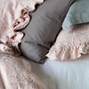Emma Standard PIllowcase in Heirloom Rose, Emma Twin Duvet Cover in Heirloom Rose, Emma 20x20 Throw PIllow in Heirloom Rose