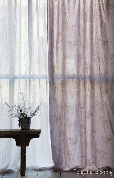 Emma Curtain in Powder
