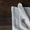 Homespun Napkins in Winter White