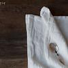 Homespun Napkins in Winter White