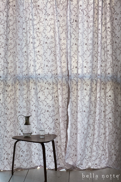Gabriella Curtains in Pebble