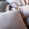 Lillian Standard Sham in Powder, Gabriella Kidney Pillow in Powder