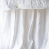 Paloma Personal Comforter in Cloud, Isabella King Duvet Cover in White, Paloma King Bed Skirt in White