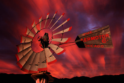 Aeromotor Sunset