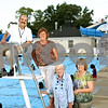 Beck Diefenbach  -  bdiefenbach@daily-chronicle.com<br /> <br /> Former Hopkins Pool employees, from left, Jim Dionisopoulos, Norma Anderson, Sheyl Nakonechny and Mariann Riipi.