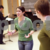 Beck Diefenbach  -  bdiefenbach@daily-chronicle.com<br /> <br /> Northern Illinois University student Emily Sites (Gretel) sings during a rehearsal for an operatic version of Hansel and Gretel in the NIU Music Building in DeKalb, Ill., on Tuesday March 17, 2009.