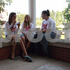Randi Stella – rstella@daily-chronicle.com<br /> <br /> (from left) Aliza Patterson,13, Kiley Mckee,12 and Julie Kunde, 14, all from DeKalb, enjoy ice cream at the annual Ice Cream Social held at the Ellwood House in DeKalb, Ill., on Sunday, August 2nd, 2009.