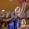 Beck Diefenbach  -  bdiefenbach@daily-chronicle.com<br /> <br /> Hinckley-Big Rock junior Jenna Thorp (20) reaches for a loose ball during the second quarter of the game at Indian Creek High School in Shabbona, Ill., on Thursday Jan. 29, 2009. HBR beat Indian Creek 61 to 41.