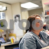 Beck Diefenbach  -  bdiefenbach@daily-chronicle.com<br /> <br /> Registered Nurse Sherry Eckert talks with a patient on the phone at the DeKalb Clinic in DeKalb, Ill., on Monday April 20, 2009.