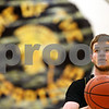 Beck Diefenbach  -  bdiefenbach@daily-chronicle.com<br /> <br /> Sycamore's Joe Strack shoots free-throws during practice at Sycamore High School in Sycamore, Ill., on Monday Jan. 19, 2008.
