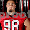 Rob Winner – rwinner@daily-chronicle.com<br /> D.J. Pirkle DT<br /> NIU Football<br /> 08/07/2009