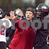 Beck Diefenbach  -  bdiefenbach@daily-chronicle.com<br /> <br /> Northern Illinois' quarterback coach Pat Poore during practice at NIU's Huskie Stadium in DeKalb, Ill., on Tuesday March 24, 2009.