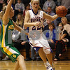 Rob Winner – rwinner@daily-chronicle.com<br /> Hinckley-Big Rock's Maxzine Rossler drives to the basket during the first quarter on Saturday December 19, 2009 in Hinckley, Ill.