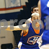 Beck Diefenbach  -  bdiefenbach@daily-chronicle.com<br /> <br /> Genoa's Nick Lopez plays defense during practice at Genoa Kingston High School in Genoa, Ill., on Wednesday Jan. 7, 2009.