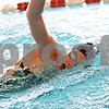 Beck Diefenbach  -  bdiefenbach@daily-chronicle.com<br /> <br /> Senior Casey Jepsen during practice at the DeKalb High School swimming pool in DeKalb, ill., on Wednesday Sept. 2, 2009.