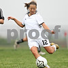 Beck Diefenbach  -  bdiefenbach@daily-chronicle.com<br /> <br /> Sycamore's Mary Kohler (12) during the second half of the Belvidere Class 2A sectional semi-final game against Crystal Lake Central at Belvidere High School in Belvidere, Ill., on Wednesday May 27, 2009.