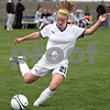 Rob Winner – rwinner@daily-chronicle.com<br /> <br /> Sycamore's Kate Herrmann during the 5-0 defeat of Peoria Notre Dame during the Class 2A Rochelle Supersectional on Tuesday.<br /> <br /> 06/02/2009