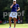 Beck Diefenbach  -  bdiefenbach@daily-chronicle.com<br /> <br /> USA's Nicole Castrale reacts to her missed put 9th hole during the match against team Europe at the Solheim Cup in Sugar Grove, Ill., on Saturday Aug. 22, 2009.
